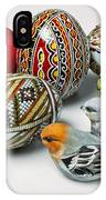 Easter Eggs Do With Birds IPhone Case