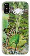 Emerald Lily Pond IPhone Case