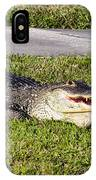 Enjoying The Sun IPhone Case