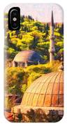 Eyup Sultan Mosque IPhone Case
