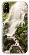 Fairy Falls In The Columbia River Gorge Area Of Oregon IPhone Case
