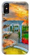 Fairytale Garden IPhone Case by Julis Simo