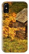 Fall At The Farm IPhone Case