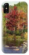 Fall At The River IPhone Case