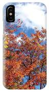 Fall Colors And Blue Sky IPhone Case