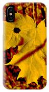 Fall Maple IPhone Case
