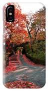 Fall Path IPhone Case