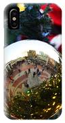 Faneuil Hall Christmas Tree Ornament IPhone Case