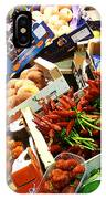 Farmers Market Florence Italy IPhone Case