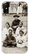 Father Damien (1840-1889) IPhone Case
