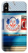 Feed The Clown IPhone Case