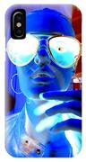 Feelin Blue IPhone Case