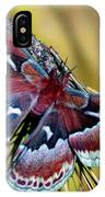 Female Promethea Moth IPhone Case