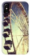 Ferris Wheel In Paris IPhone Case