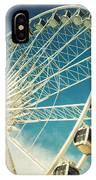 Ferris Wheel Retro IPhone X Case