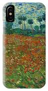 Field With Poppies  IPhone Case
