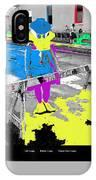 Film Homage Howard The Duck '86 Cowboy Duck Collage La Fiesta De Los Vaqueros Rodeo Tucson '85-'09 IPhone Case