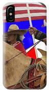 Film Homage Ride Vaquero 1953 1 Hispanic Riders Rodeo Parade Tucson Az 2002-2008 IPhone Case