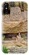 Fire Temple On Chapin Mesa Top Loop Road In Mesa Verde National Park-colorado  IPhone Case