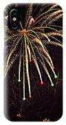Fireworks In Neon IPhone Case