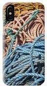 Fishing Ropes IPhone Case