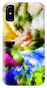 Floral Art X IPhone Case