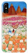 Flowers And Fields Alive With Thy Joy IPhone Case