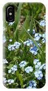 Flowers In Switzerland IPhone Case