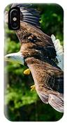 Flying Eagle IPhone Case