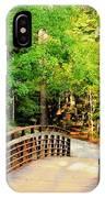 Folsom Bridge At Furnace Creek IPhone Case