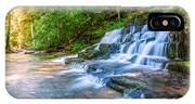 Forest Stream And Waterfall IPhone X Case