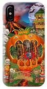 Freaky Tiki Tombs IPhone Case