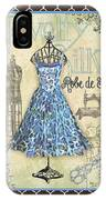 French Dress Shop-b1 IPhone Case