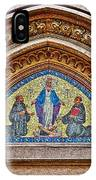Fresco In Front Of Saint Anthony's Church In Istanbul-turkey  IPhone Case