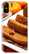 Fresh Pumpkin Bread IPhone Case