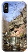 Fresh Water Streams Around Poconos Pa America Usa  IPhone Case
