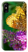 Fritillary Butterfly  IPhone Case