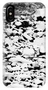 Frozen Riverbed In Winter IPhone Case