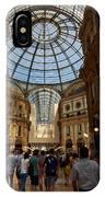 Galleria Vittorio Emanuele. Milano Milan IPhone Case
