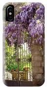 Garden Gate IPhone Case