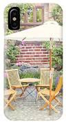 Garden Seating Area IPhone Case