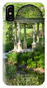 Gazebo By Lake IPhone Case