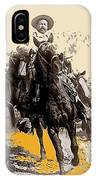 General Pancho Villa At Ojinaga A Military Triumph 1916-2008 IPhone Case