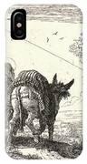 Giovanni Domenico Tiepolo Italian, 1727 - 1804. The Flight IPhone Case