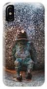 Gnome Statue Wroclaw Poland IPhone Case
