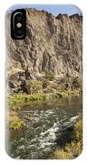 Goose Rock Above John Day River Oregon IPhone Case