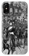 Grant Funeral, 1885 IPhone Case