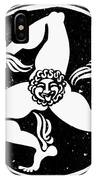 Greece Triskelion IPhone Case