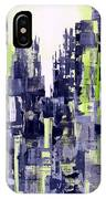 Green City IPhone Case