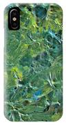 Leaves In The Wind IPhone Case